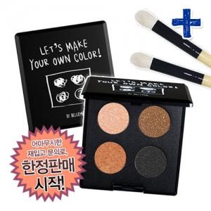 ★딱2주만!한정판매!★아이섀도우&팔레트 세트프렌치시크세트-4컬러